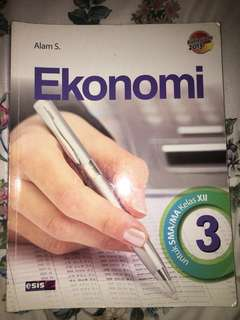 Buku Ekonomi Esis kelas XII SMA