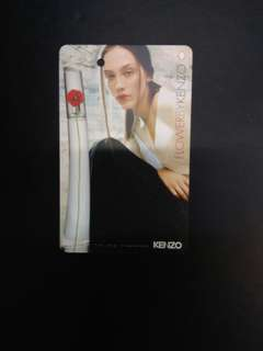 Flower by Kenzo fragrance MRT card