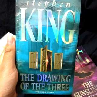 The Drawing of The Three by Stephen King Imported Books Novel