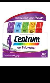 Centrum women - 100 tablets #easter20