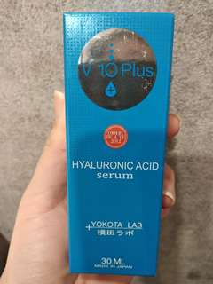 V10 Plus Hyaluronic Acid Serum . Buy any 2 serums and get a cleanser for free