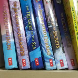 Thea Stilton and Geronimo Stilton Hardcover Novels (only The Journey to Atlantis available...)