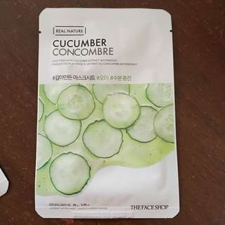 The Faceshop Cucumber Face Mask