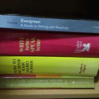 Bundle set of books for English Language