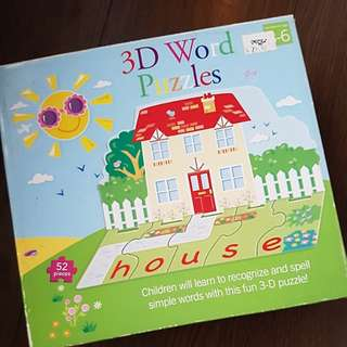 3D Educational Puzzles
