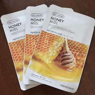 The Faceshop Honey Face Mask