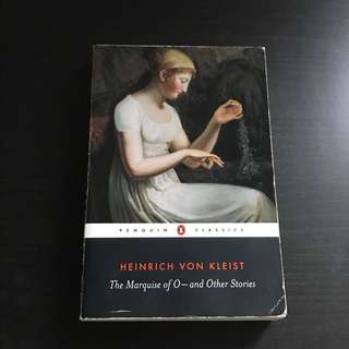 the marquise of o, heinrich von kleist