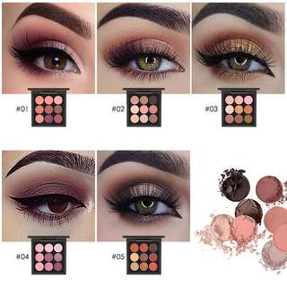 Focallure Nine Colors Eyeshadow