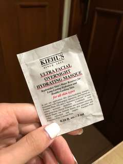 Sample KIEHL'S Ultra Facial Overnight Hydrating Masque