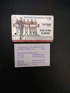 The full monty movie MRT card
