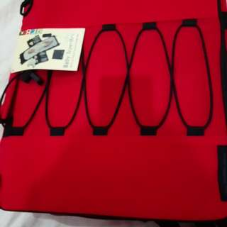 Baby traveller diaper bag and changing may