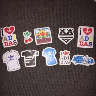 ADIDAS SKATEBOARD STICKERS