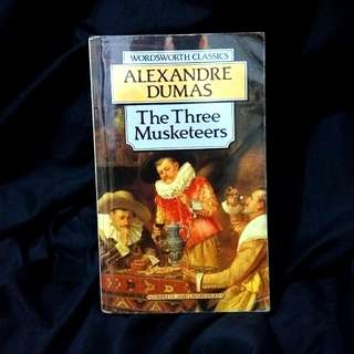 The Three Musketeers by Alexandre Dumas Imported Classic Novel Book