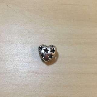 🚚 Pandora簍空愛心純銀珠珠