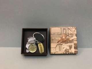 絕版半島酒店80周年紀念限量鎖匙扣