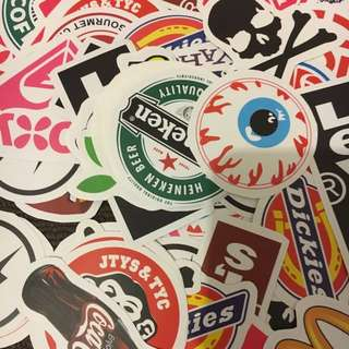 Random Skateboard Stickers