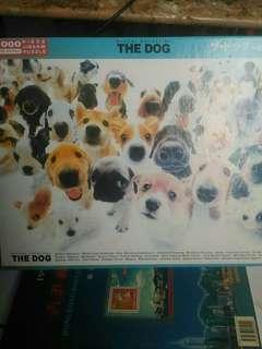 THE DOGS 大頭狗 1000塊 砌圖 JIGSAW PUZZLE
