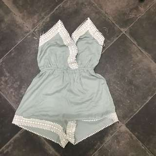 Size small Playsuit HnM