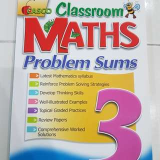 Primary 3 Maths assessment book