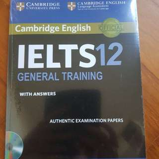 IELTS GENERAL 12 NEW with Cd