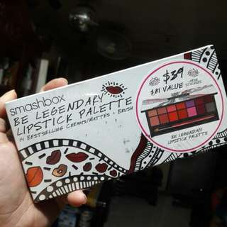 Smashbox Be legendary lipstick palette 14 shades
