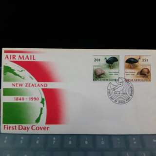 1990 Papua New Guinea First Day Cover
