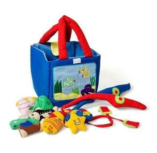 Oskar & Ellen Fishing set