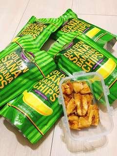"""🚚 """"保证正品""""菲律宾超好吃Michelle's香蕉片200g"""