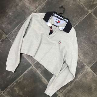 90s Tommy Hilfiger Crop Polo
