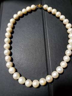 Authentic Freshwater Pearls Choker Necklace