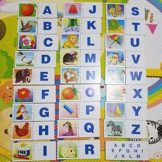 Preloved Matching Alphabets Puzzles