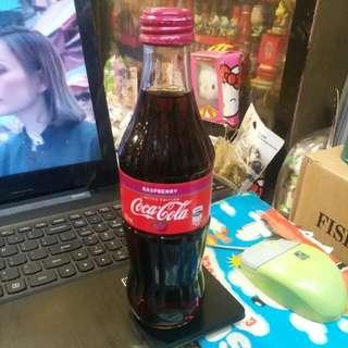 Coca Cola 可口可樂 - 澳洲 RASPBERRY 玻璃樽一枝