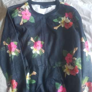 Blackseat jumper floral print