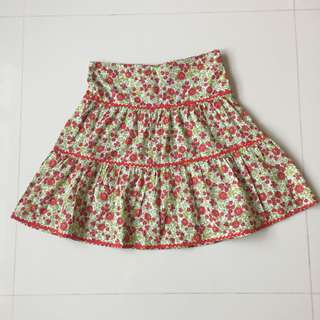 Chateau de sable flower skirt