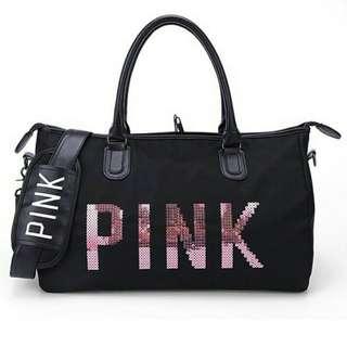 Black Travel Bag Repriced