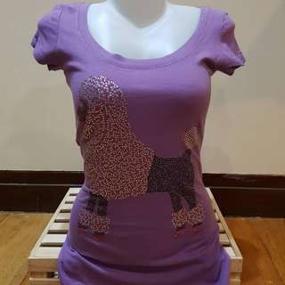 Bebe Purple top
