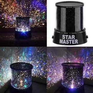 Star Master Projection Lamp