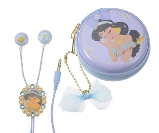 *買三送一* Disney Jasmine Happy Smile with Stereo Earphone