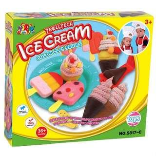 (Preorder) Ice cream play dough set