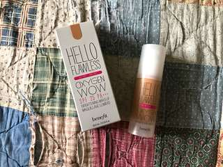 *AUTHENTIC* Benefit Hello Flawless Oxygen Wow Foundation
