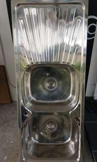 Kitchen Double Bowl Sink