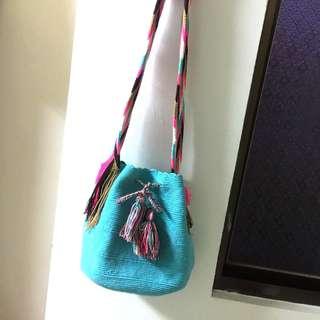 全新wayuu 哥倫比亞編織包