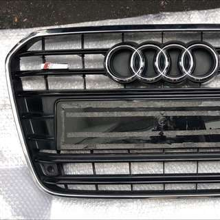 Original Audi A6 C7 Front Grille Mesh S Line Emblem