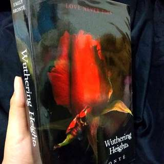 Wuthering Heights by Emily Brönte Imported Classic Book Novel