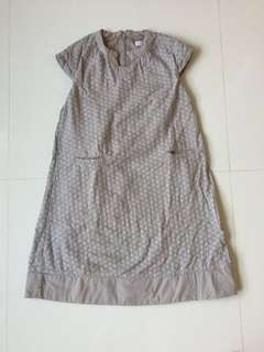 Chateau de sable grey dress