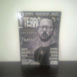 MUSIC Magazine Terrorizer Issue 241 (Nov 2013)