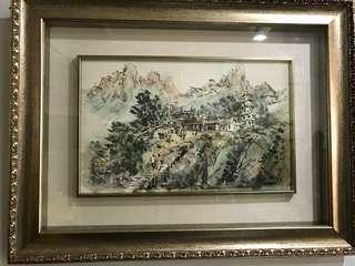 🚚 爺爺收藏的畫