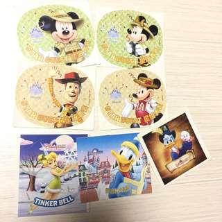 Disney 香港迪士尼樂園 貼紙 Hong Kong Disneyland Sticker (限定版)