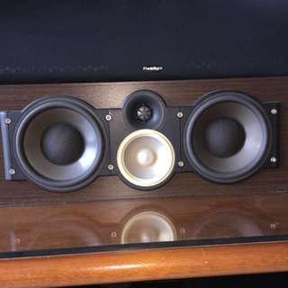 Paradigm monitor cc290 v6 Center speaker