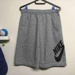 🚚 NIKE-女版灰色大LOGO棉褲
